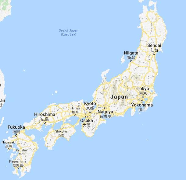 Japan Holiday Locations