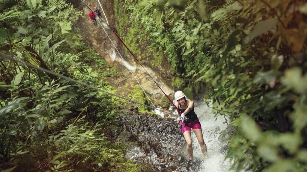 Costa Rica Abseiling