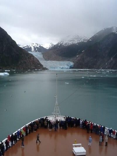 Alaska Glacier Ship