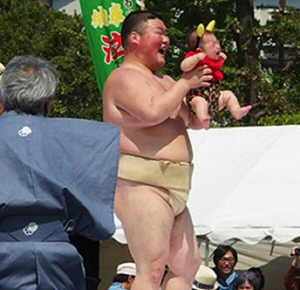 Japan Crying Baby Sumo