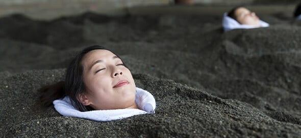 Japan Black Sand Bath
