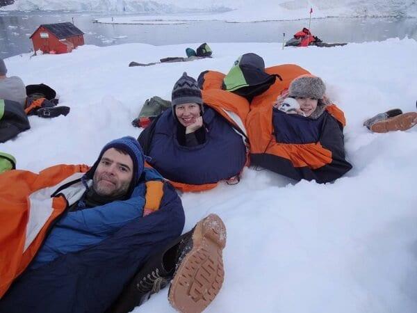 Antarctica Adventure Camping