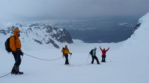 Antarctica Adventure Mountaineering
