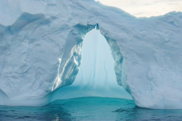 Antarctica Blue Iceberg