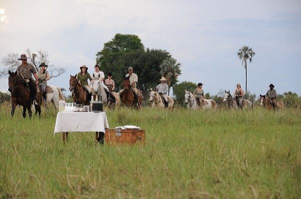 Horse Riding Safari Sundowners