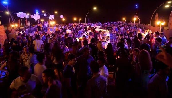 Israel Party Atmosphere
