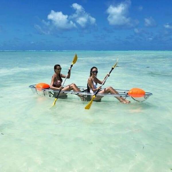 Tanzania Zanzibar Clear Kayaks