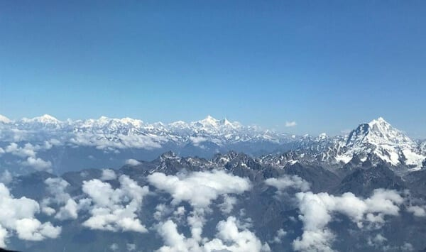 Nepal View Himalayas