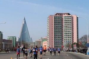 North Korea Marathon Running