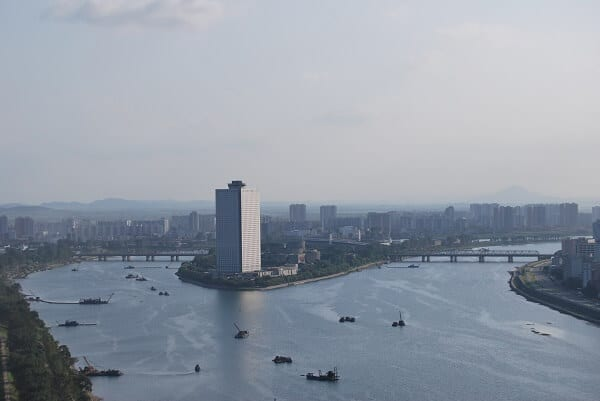 North Korea Yanggakdo Hotel